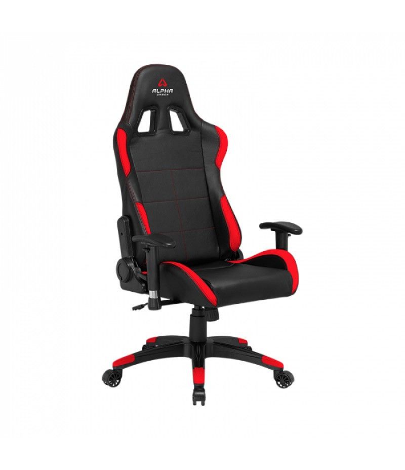 CADEIRA GAMING ALPHA GAMER VEGA BLACK/RED