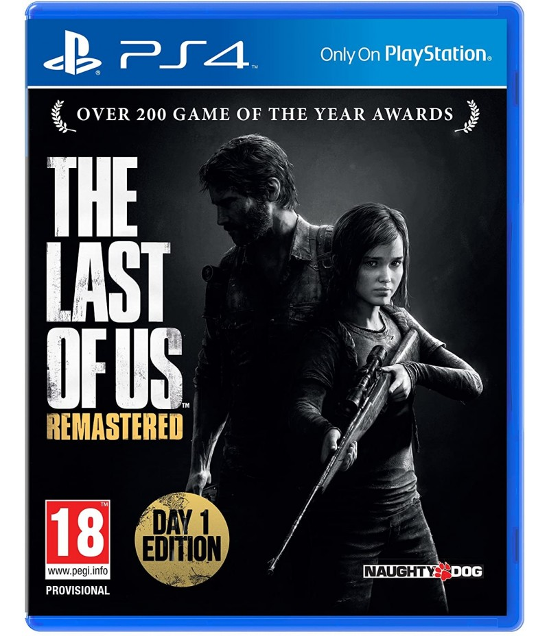 THE LAST OF US PS4 REMASTERED PS4 & PS5