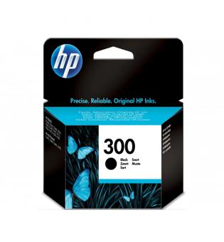 TINTEIRO HP 300 PRETO ORIGINAL (CC640EE)