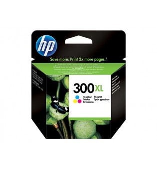 TINTEIRO HP 300 XL TRICOLOR ORIGINAL (CC644EE)