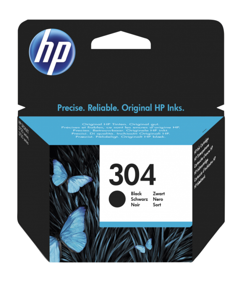 TINTEIRO HP 304 PRETO ORIGINAL (N9K06AE)