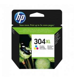 TINTEIRO HP 304 XL TRICOLOR ORIGINAL (N9K07AE)